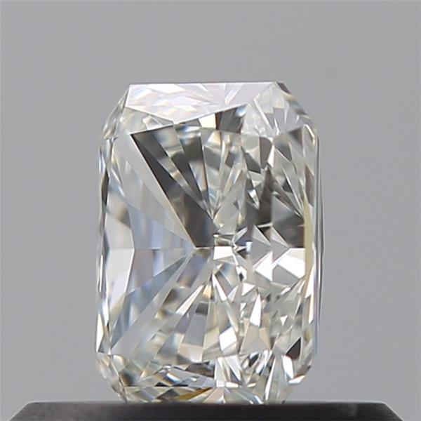0.50 Carat Radiant Loose Diamond, I, VVS2, Super Ideal, GIA Certified