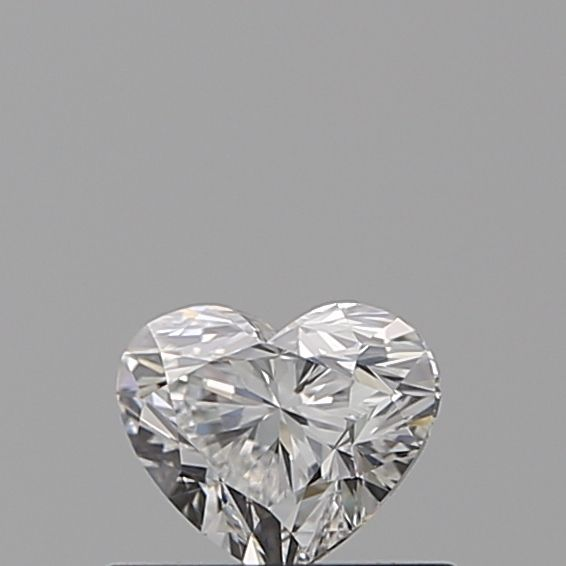 0.40 Carat Heart Loose Diamond, E, VVS2, Super Ideal, GIA Certified