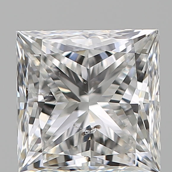 1.29 Carat Princess Loose Diamond, F, SI2, Super Ideal, GIA Certified
