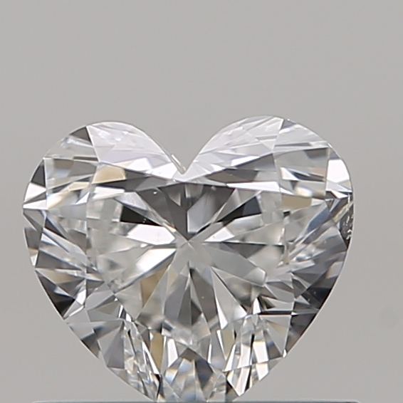 0.51 Carat Heart Loose Diamond, E, VS2, Super Ideal, GIA Certified