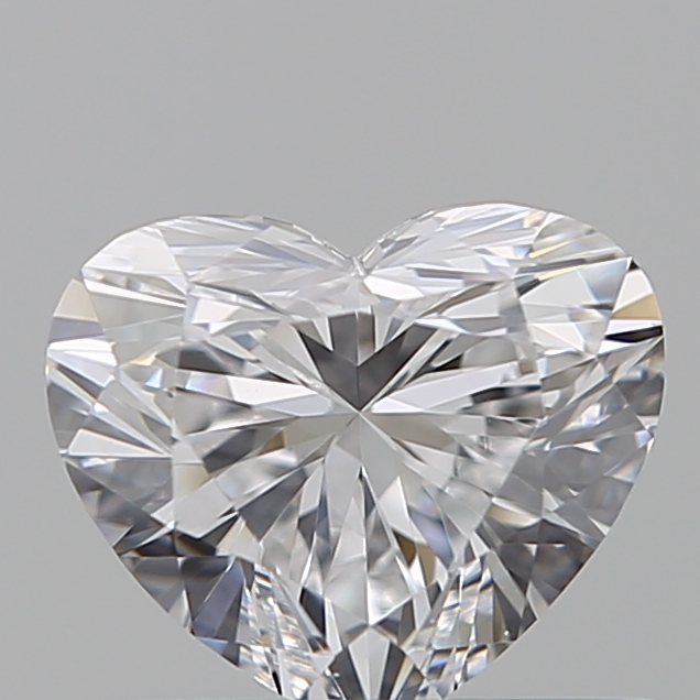 0.54 Carat Heart Loose Diamond, D, IF, Super Ideal, GIA Certified
