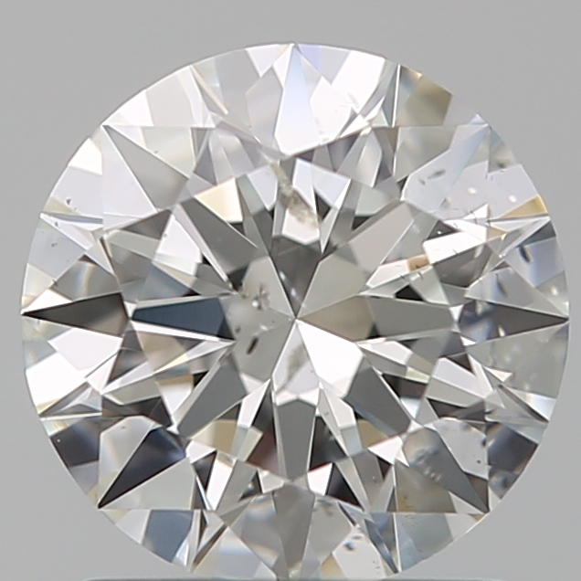 1.30 Carat Round Loose Diamond, H, SI2, Super Ideal, GIA Certified