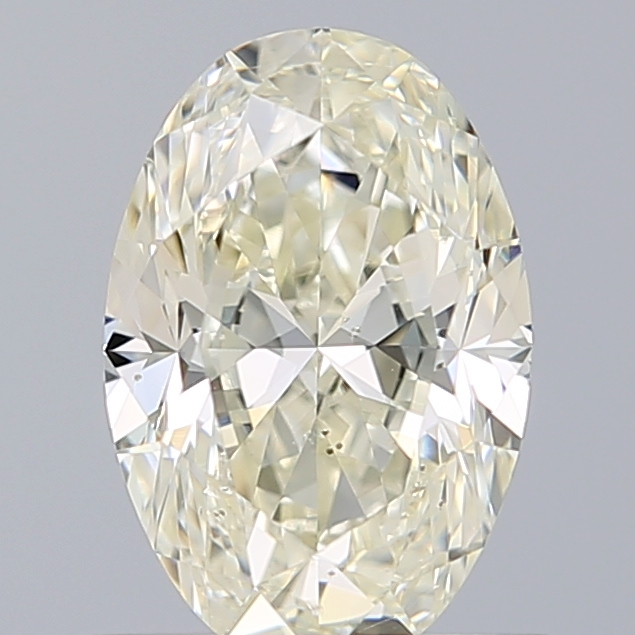 1.01 Carat Oval Loose Diamond, K, SI2, Excellent, GIA Certified