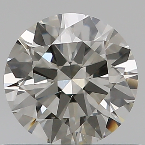 0.50 Carat Round Loose Diamond, I, SI1, Ideal, GIA Certified