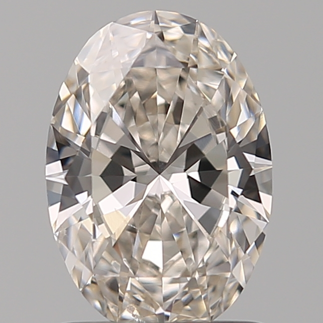 1.03 Carat Oval Loose Diamond, J, SI1, Super Ideal, GIA Certified | Thumbnail