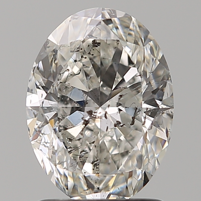 1.50 Carat Oval Loose Diamond, G, I1, Super Ideal, GIA Certified