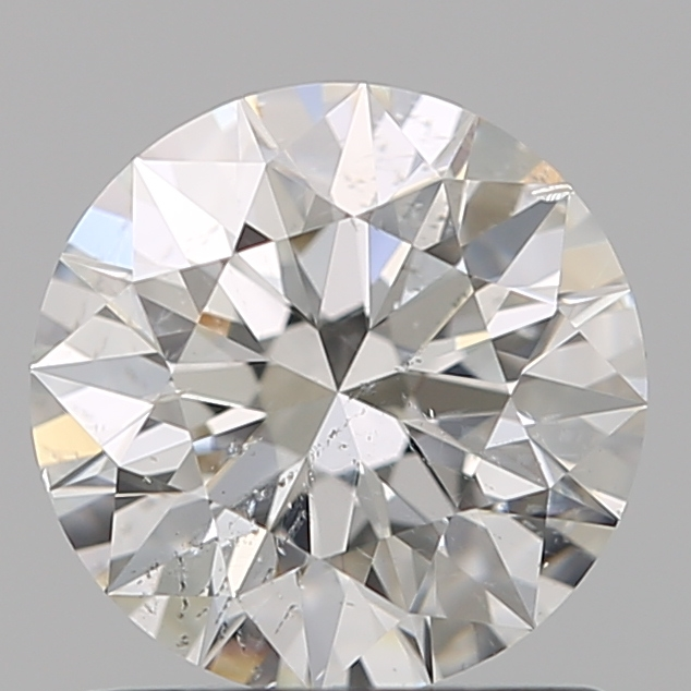 0.94 Carat Round Loose Diamond, H, SI2, Super Ideal, GIA Certified