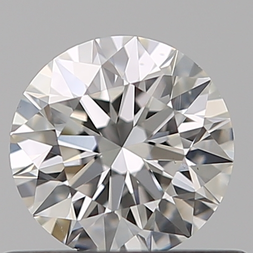 0.51 Carat Round Loose Diamond, G, VS2, Super Ideal, GIA Certified