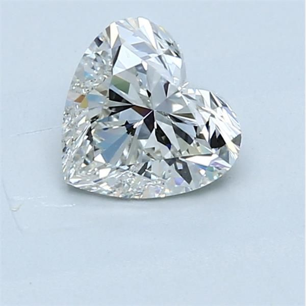 1.02 Carat Heart Loose Diamond, H, SI2, Super Ideal, GIA Certified
