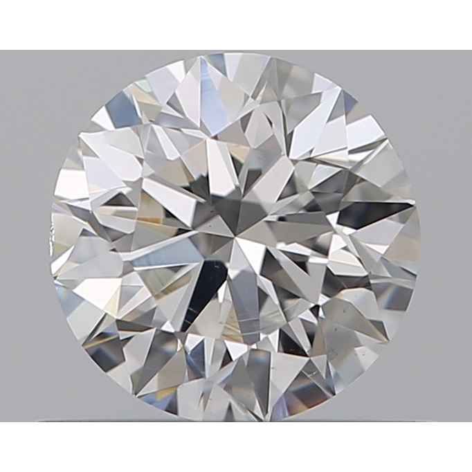 0.50 Carat Round Loose Diamond, F, VS2, Super Ideal, GIA Certified