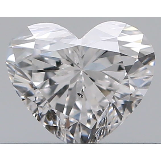 0.35 Carat Heart Loose Diamond, E, SI1, Excellent, GIA Certified