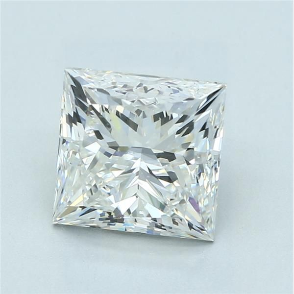 3.50 Carat Princess Loose Diamond, G, VS2, Ideal, GIA Certified | Thumbnail