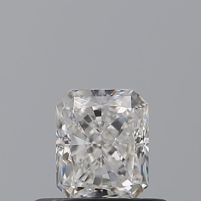 0.52 Carat Radiant Loose Diamond, G, VS2, Super Ideal, GIA Certified