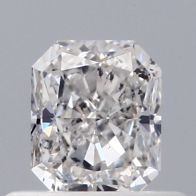 0.50 Carat Radiant Loose Diamond, G, SI2, Excellent, GIA Certified