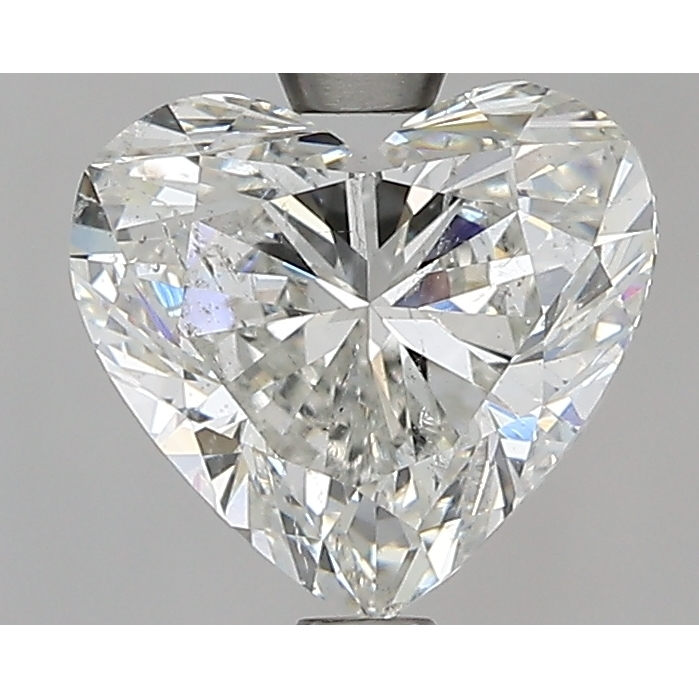 1.90 Carat Heart Loose Diamond, I, SI2, Super Ideal, GIA Certified