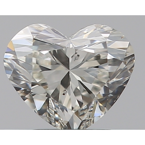 0.30 Carat Heart Loose Diamond, I, VS2, Excellent, GIA Certified
