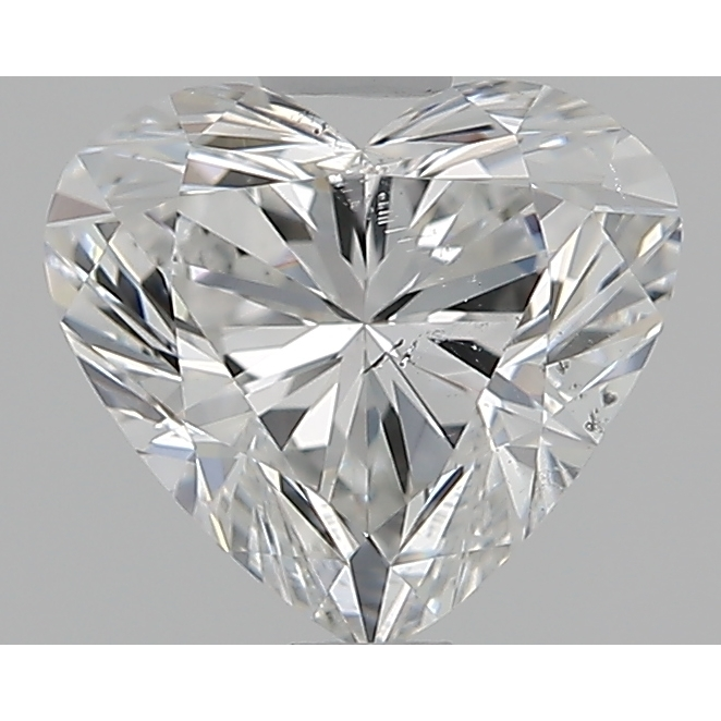 1.00 Carat Heart Loose Diamond, F, SI2, Super Ideal, GIA Certified | Thumbnail