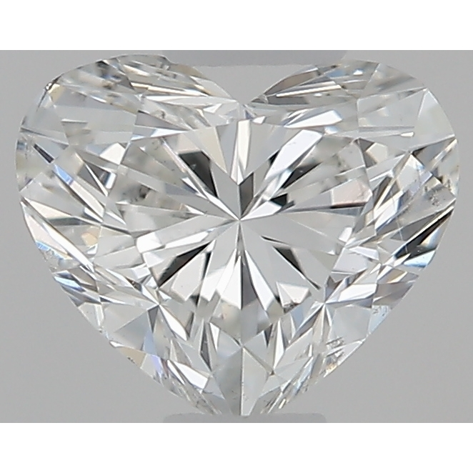 0.34 Carat Heart Loose Diamond, G, SI1, Super Ideal, GIA Certified