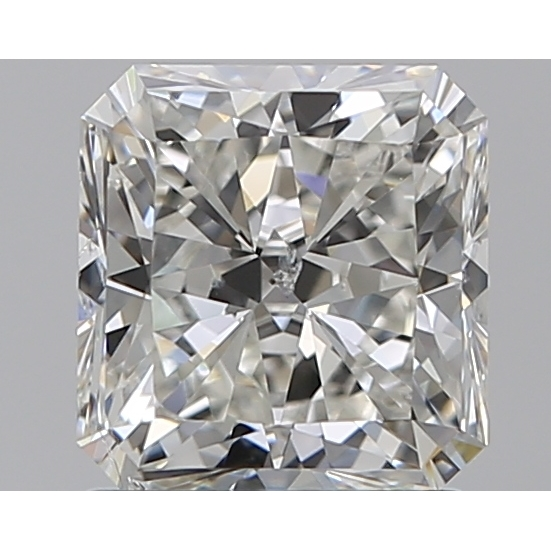 1.26 Carat Radiant Loose Diamond, H, SI2, Super Ideal, GIA Certified