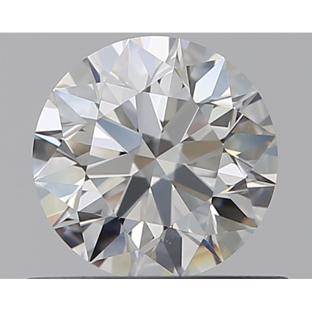 0.51 Carat Round Loose Diamond, F, VS1, Super Ideal, GIA Certified
