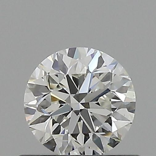 0.50 Carat Round Loose Diamond, H, VS1, Excellent, GIA Certified