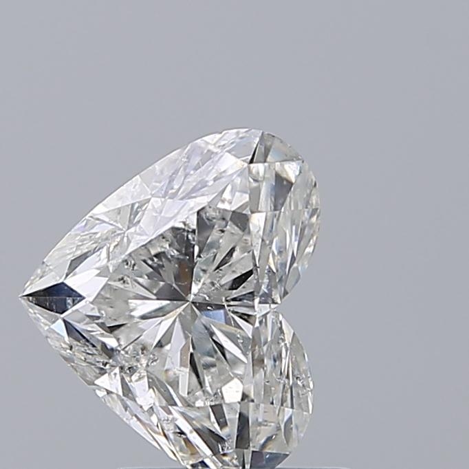 1.51 Carat Heart Loose Diamond, G, SI2, Ideal, IGI Certified