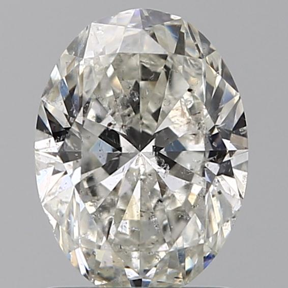 1.20 Carat Oval Loose Diamond, H, SI2, Ideal, IGI Certified