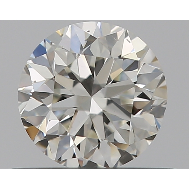 0.46 Carat Round Loose Diamond, I, SI1, Excellent, GIA Certified