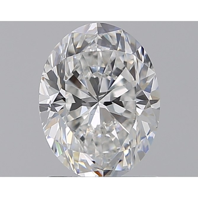 1.21 Carat Oval Loose Diamond, F, VS2, Excellent, GIA Certified