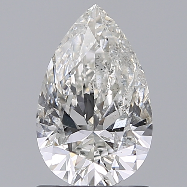 1.00 Carat Pear Loose Diamond, G, SI2, Ideal, IGI Certified