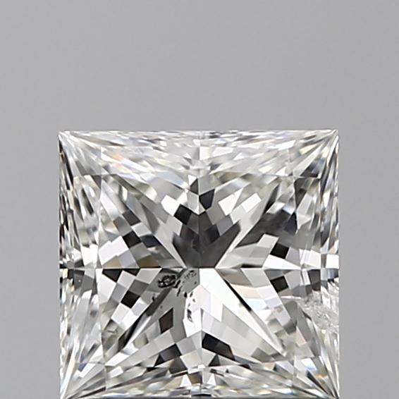 1.01 Carat Princess Loose Diamond, G, SI2, Ideal, IGI Certified | Thumbnail