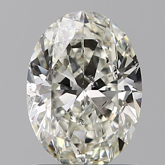 1.00 Carat Oval Loose Diamond, I, SI2, Excellent, IGI Certified
