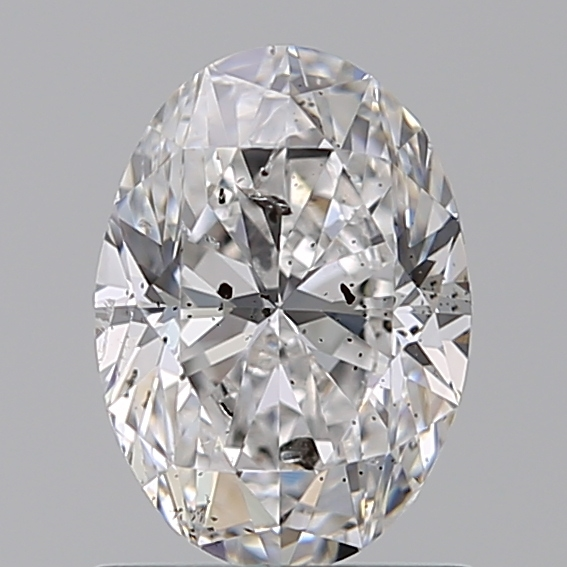 1.00 Carat Oval Loose Diamond, D, SI2, Very Good, IGI Certified
