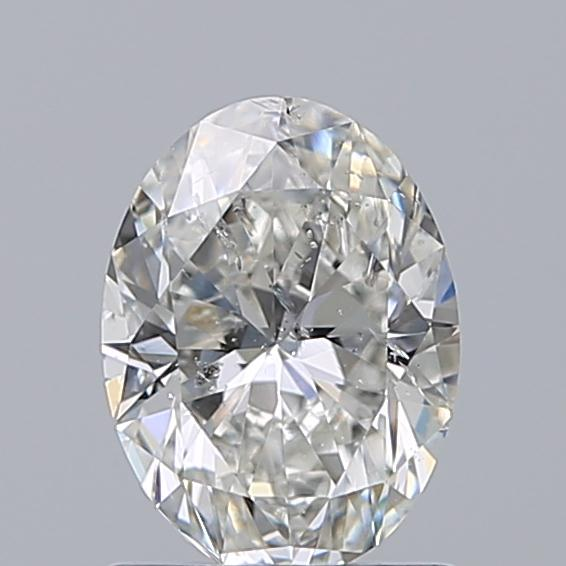 1.00 Carat Oval Loose Diamond, G, SI2, Excellent, IGI Certified