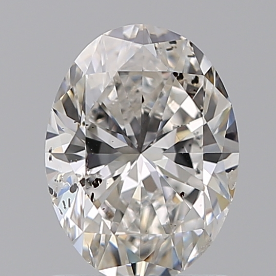1.00 Carat Oval Loose Diamond, F, SI2, Ideal, IGI Certified