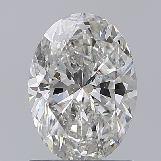 1.00 Carat Oval Loose Diamond, H, SI2, Ideal, IGI Certified
