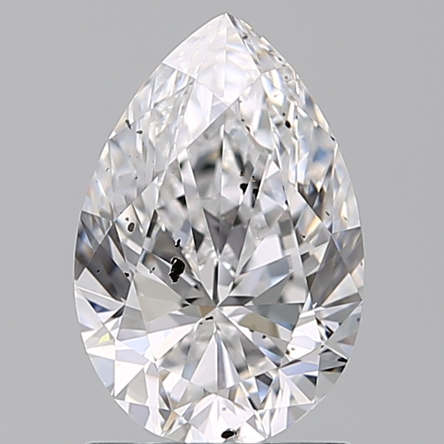 1.20 Carat Pear Loose Diamond, D, SI2, Ideal, IGI Certified