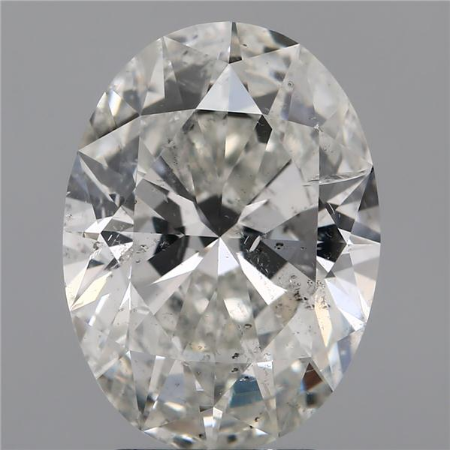 3.01 Carat Oval Loose Diamond, H, SI2, Super Ideal, IGI Certified