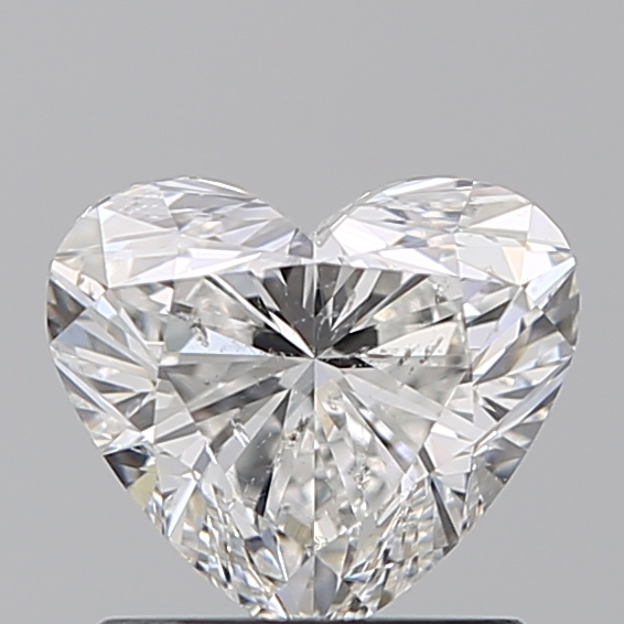 1.01 Carat Heart Loose Diamond, F, SI2, Super Ideal, IGI Certified