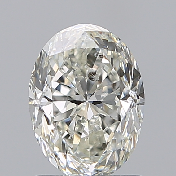 1.50 Carat Oval Loose Diamond, H, SI2, Very Good, IGI Certified