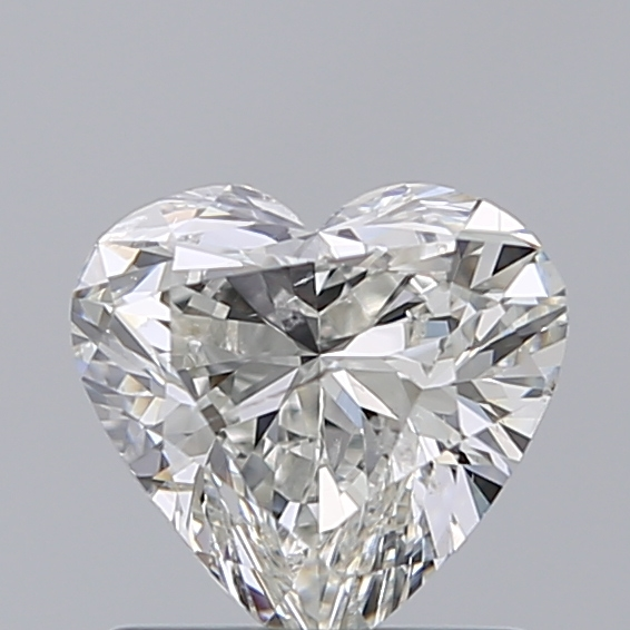 0.96 Carat Heart Loose Diamond, H, SI2, Excellent, IGI Certified