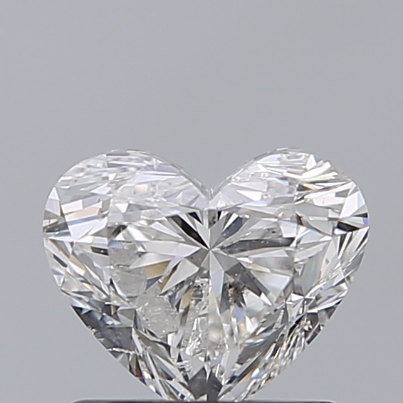 0.96 Carat Heart Loose Diamond, G, SI2, Excellent, IGI Certified