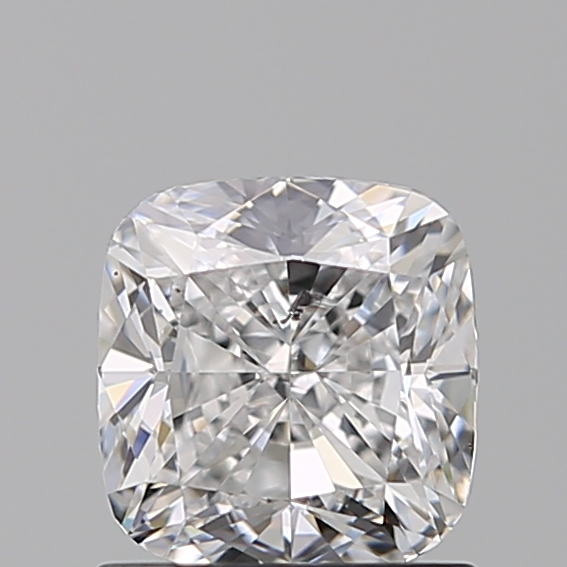 1.00 Carat Cushion Loose Diamond, D, SI2, Excellent, IGI Certified