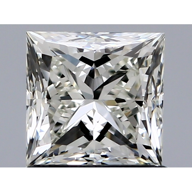 1.00 Carat Princess Loose Diamond, I, VVS2, Ideal, IGI Certified