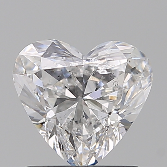 1.00 Carat Heart Loose Diamond, E, SI2, Excellent, IGI Certified