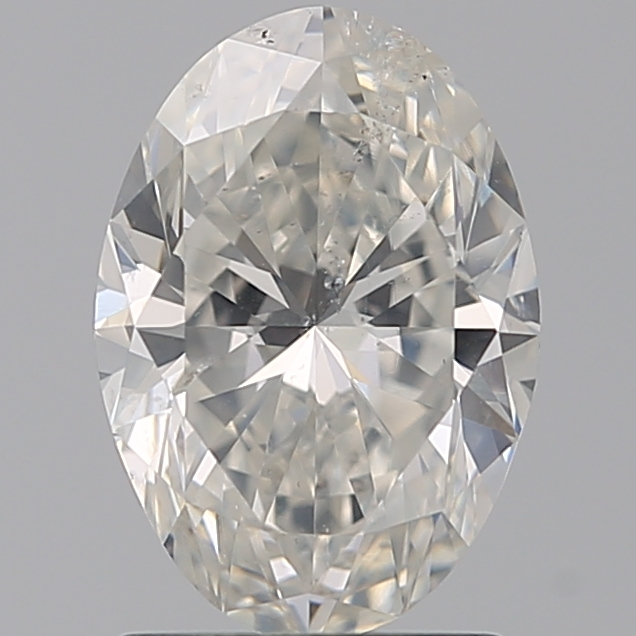 1.50 Carat Oval Loose Diamond, H, SI2, Ideal, IGI Certified