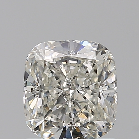 1.00 Carat Cushion Loose Diamond, I, SI2, Ideal, IGI Certified