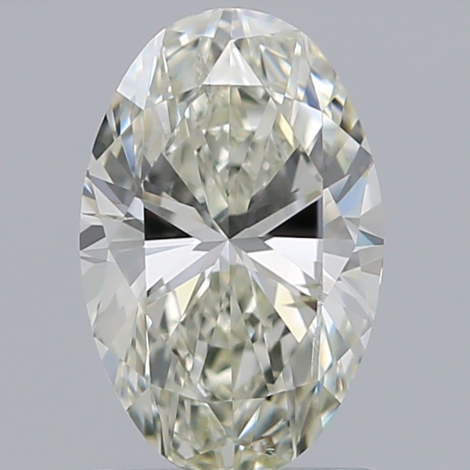 1.20 Carat Oval Loose Diamond, J, SI2, Excellent, IGI Certified