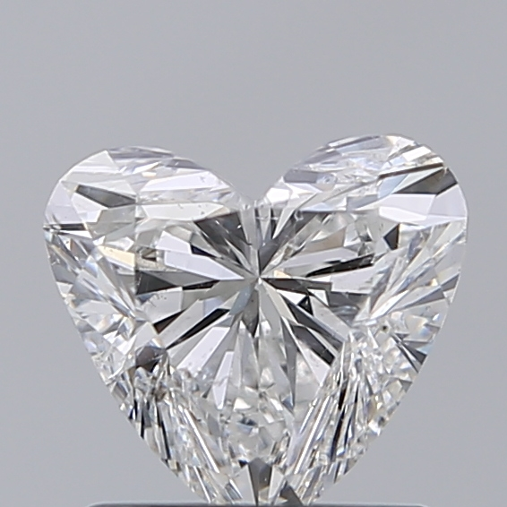 1.00 Carat Heart Loose Diamond, F, SI2, Ideal, IGI Certified