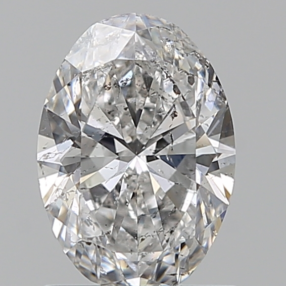 0.96 Carat Oval Loose Diamond, F, SI2, Ideal, IGI Certified